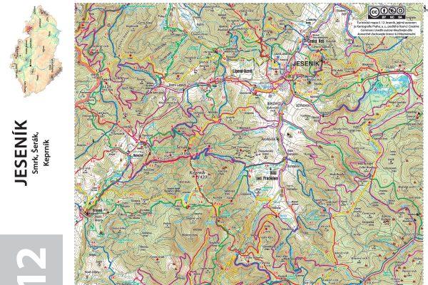 Turisticka Mapa Stitky Skolnimapy