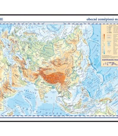 Asie Skolni Atlas Titul Skolnimapy