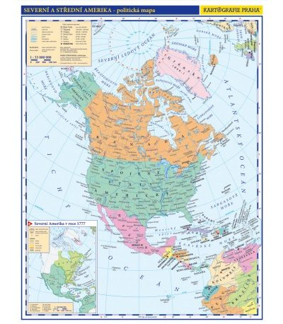 Amerika Skolni Atlas Titul Skolnimapy